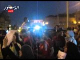 مسيرة للإفراج عن المعتقلين تصل الى دار القضاء
