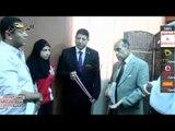 محافظ الفيوم يكرم بطلة العرب في العاب القوي لمحافظة الفيوم
