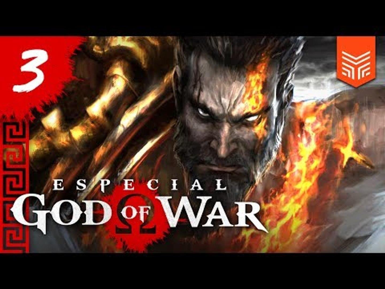 GOD OF WAR NO PSP: CORRENTES DO PASSADO   Especial God of War #3
