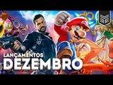 LANÇAMENTOS DE GAMES: DEZEMBRO 2018
