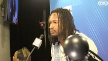 Todd Gurley speaks to the media after the Rams' Super Bowl LIII loss