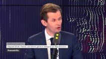 Guillaume Larrivé, député LR de l'Yonne, invité du 19h20 politique sur franceinfo