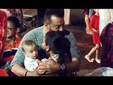 Sanjay  Dutt  children birthday party | Latest Bollywood events | Biscoot TV