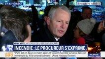 """Incendie à Paris: la piste criminelle """"privilégiée"""", le procureur annonce """"une personne en garde à vue"""""""