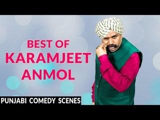 Karamjeet Anmol Best Punjabi Comedy Scenes   Funny Comedy Scenes   Karamjit Anmol   Lokdhun Punjabi