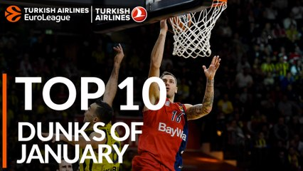 Top 10 Dunks of January