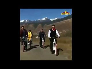 Bollywood Superstar Salman Khan's North East Bicycle Ride to Promote BHARAT