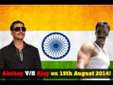 Ajay-Aki to clash next independence day?