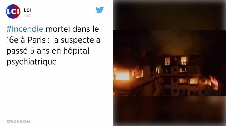 Violent incendie à Paris. Le bilan s'alourdit à 10 morts et 31 blessés, une habitante de l'immeuble en garde à vue