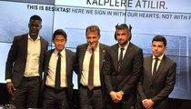 Beşiktaş, Devre Arasında Kadroya Kattığı Oyuncular İçin İmza Töreni Düzenledi