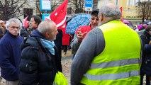 Syndicats et Gilets jaunes à Auch