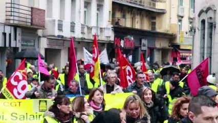 Manifestation à Tarbes le 5 février