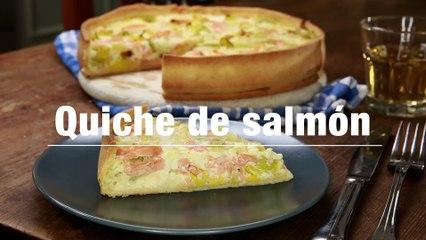 Quiche De Salmon