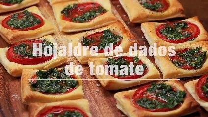 Hojaldre De Dados De Tomate