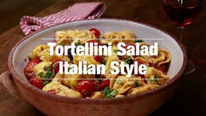Tortellini Salad Italian Style