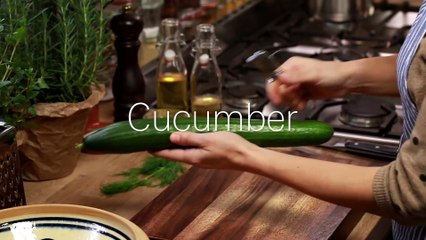 Cucumber Salad With Oil And Vinegar