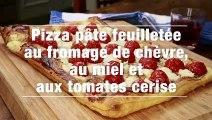 Pizza Pate Feuilletee Au Fromage De Chevre