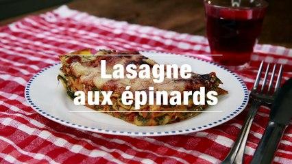 Lasagne Aux Epinards