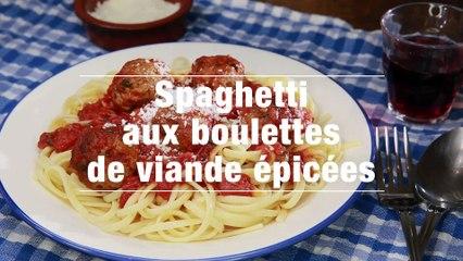 Spaghetti Aux Boulettes De Viande Epicees