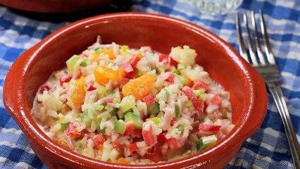 Reissalat als Party-Salat oder Grill-Beilage Rezept