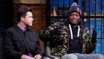 Colin Jost Is Afraid Michael Che Is Going to Get Him Murdered