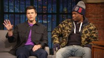 Colin Jost Talks About a Sketch Michael Che Begged Him Not to Do