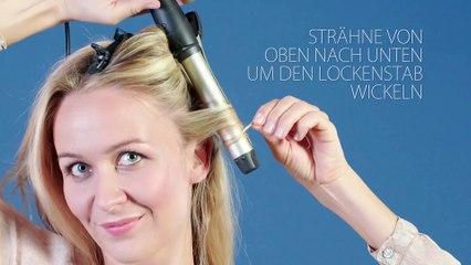 Frisurentrends Beauty - Tutorial: Lässige Wellenfrisur