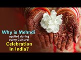 Why Applying Mehndi Has Become A Tradition At Indian Weddings | Artha