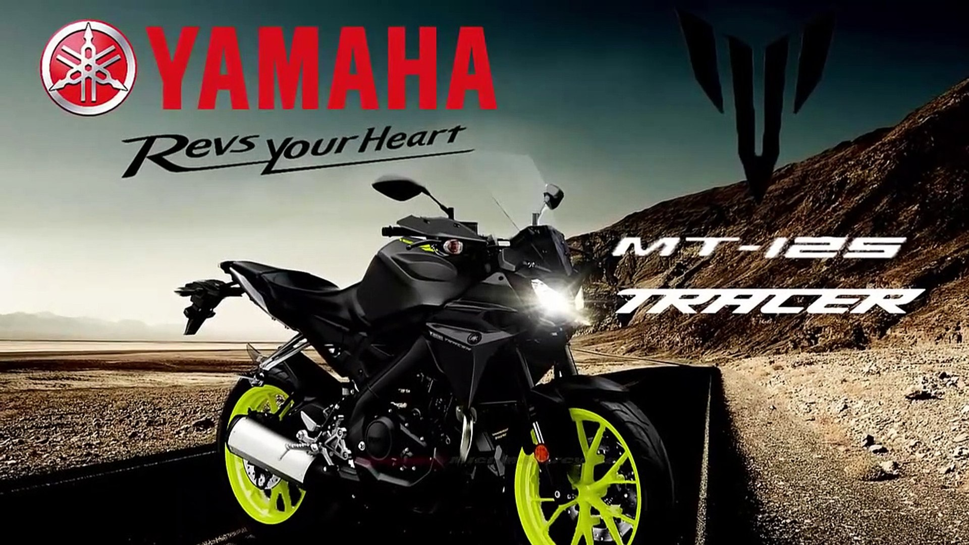 2019 Yamaha MT-125 Trace Sport Touring Version in Europe and North America | Yamaha MT-125 Tracer