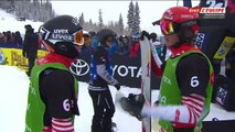 Championnats du Monde de Snow Cross par Equipe à Solitude aux États-Unis - Snowboard - Replay part 2/2