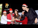 Hot And Sexy Sunny Leone Celebrates Christmas On The Sets Of One Night Stand!