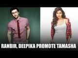 Ranbir - Deepika Promote Tamasha At A college in Mumbai