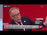 """Guillermo Nielsen: """"El dólar debería estar a $22"""""""