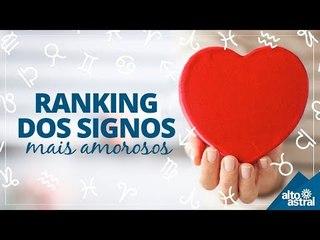 Ranking dos signos mais amorosos