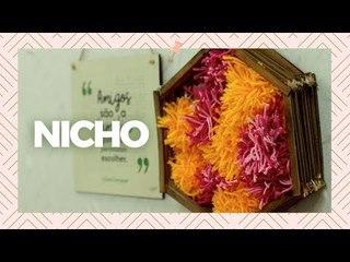 Como fazer nicho - DIY Decoração