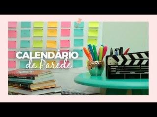 Calendário de parede - DIY