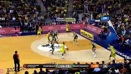EuroLeague 2018-19 Highlights Regular Season Round 22 video: Fenerbahce 85-66 Panathinaikos