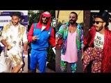 Ranveer Singh Top Craziest Outfits Ranveer Singh Bollywood's No.1 Fashionista Ranveer Singh Befire