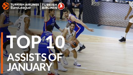 Top 10 Assists of January