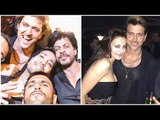 Kabil Movie actor Hrithik Roshan Full Birthday Party 2017   Sussanne Khan celebrated together