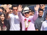 Kung Fu Yoga Movie Promotions | Jackie Chan and Sonu Sood Receives Grand Welcome At Mumbai Airport