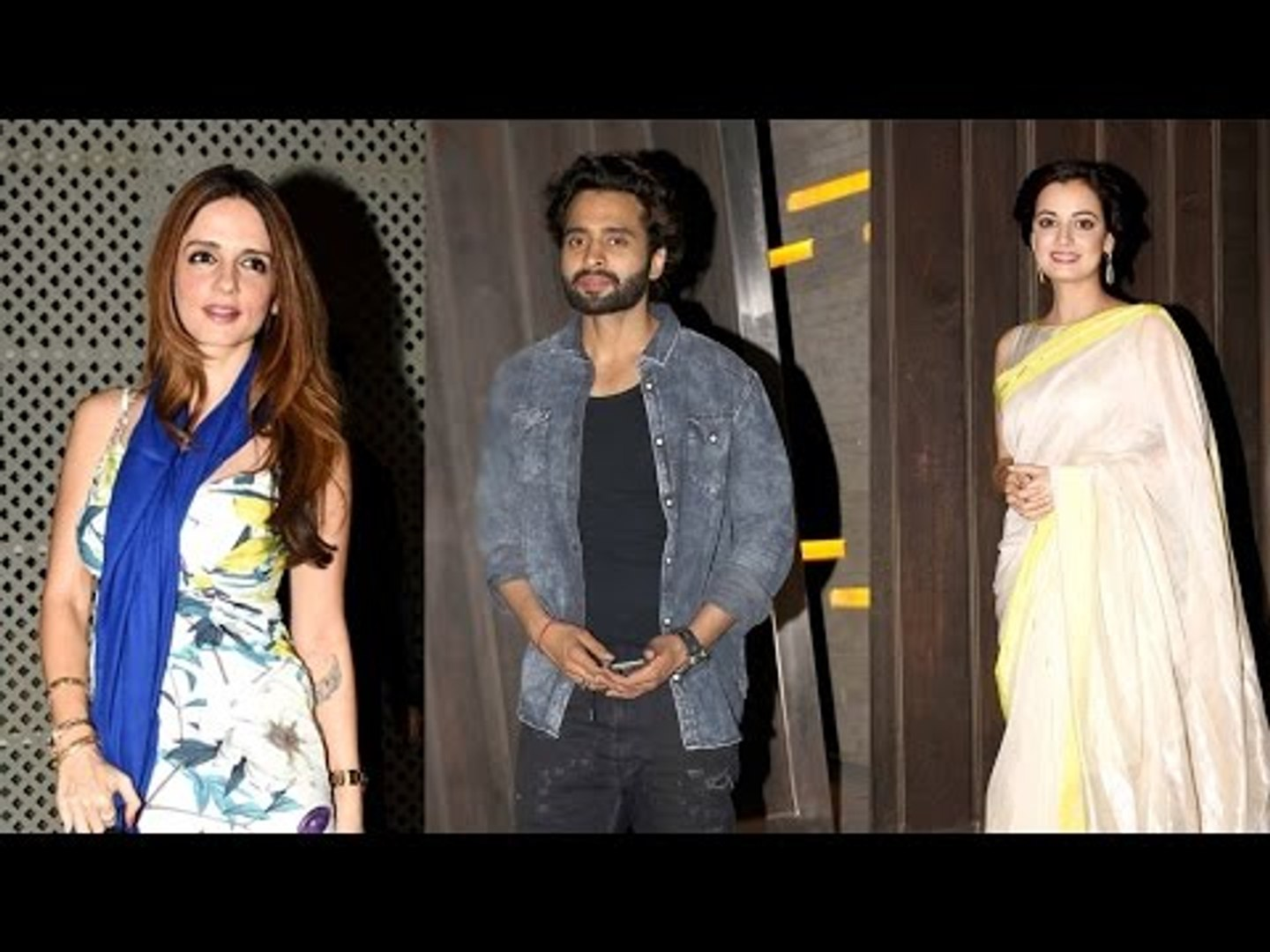 Sussanne Khan, Dia Mirza And Jacky Bhagnani Spotted At Gourav Gupta House