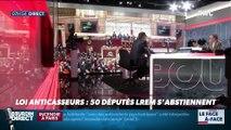 Brunet & Neumann : Loi anticasseurs, 50 députés LREM s'abstiennent - 06/02