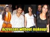 Bollywood actresses without makeup!