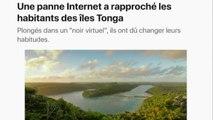 Les îles Tonga : deux semaines de panne informatique