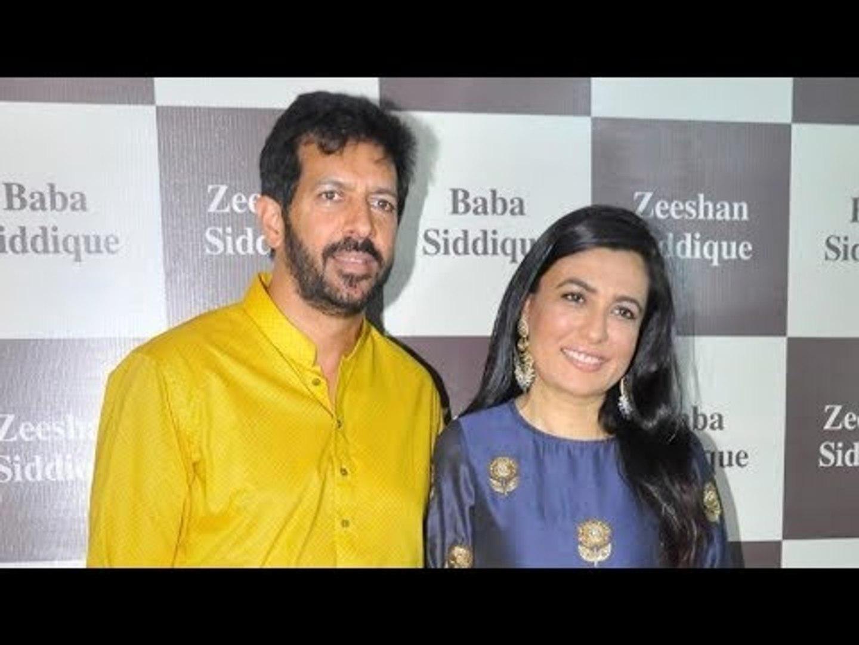 Kabir Khan With Wife Mini Mathur At Baba Siddique Iftaar Party 2017 | Bollywood Updates