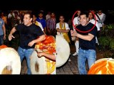 Salman Khan's Ganpati Visarjan 2017 FULL VIDEO | Bollywood actors Ganpati visarjan