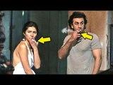 Ranbir Kapoor CAUGHT Smoking With Girlfriend Pakistani Actress Mahira Khan In New York