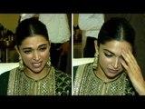 EMOTIONAL Deepika Padukone Cannot Stop CRYING Remembering Karni Sena Padmavati Release Issue