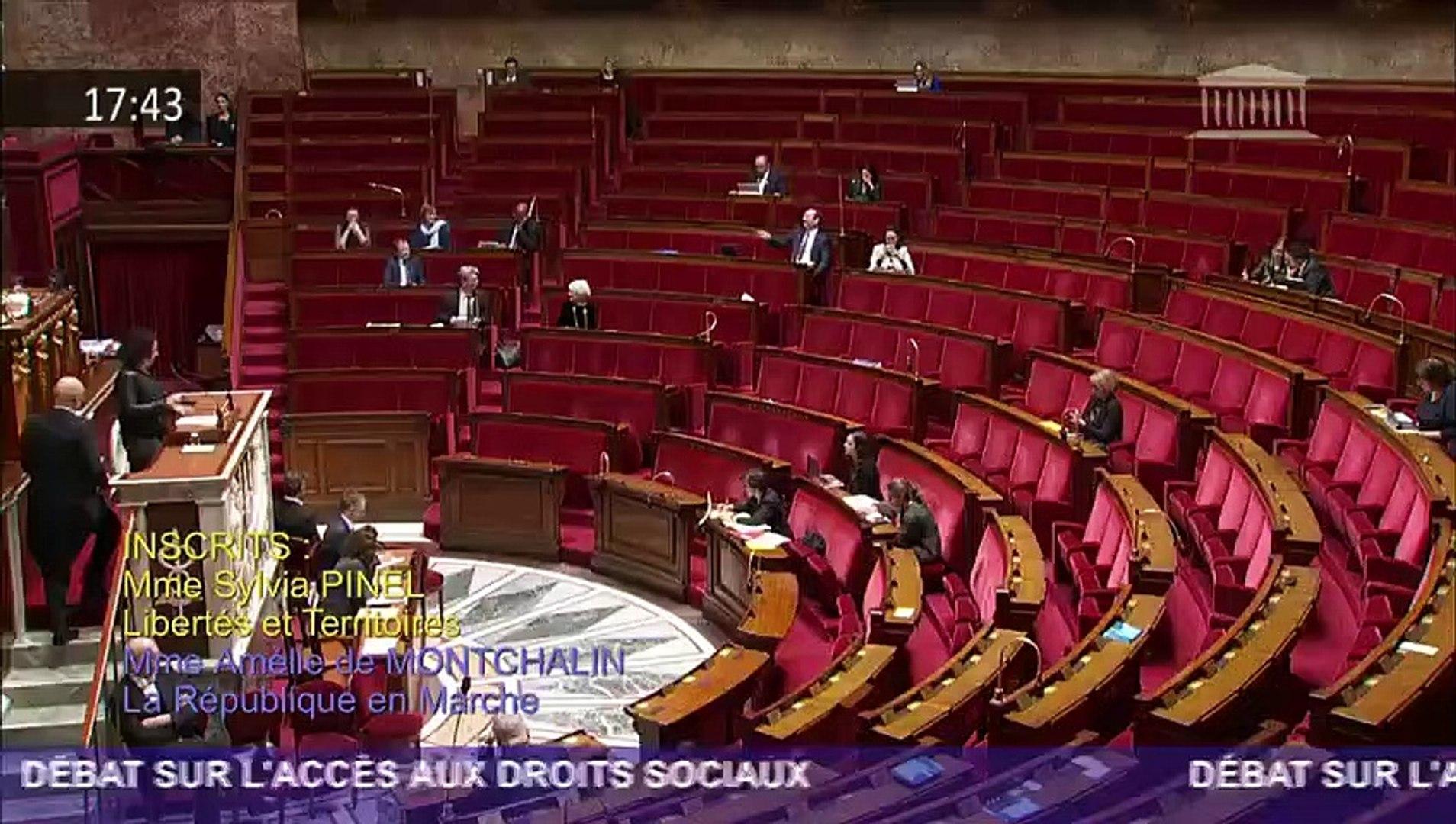 05/02/2019  Sylvia Pinel   ·  J'interviens dans le débat sur l'accès aux droits sociaux.